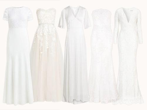 Brudklänningar under 3000 kronor