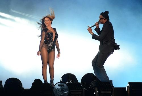 Queen B och hennes Jay Z.