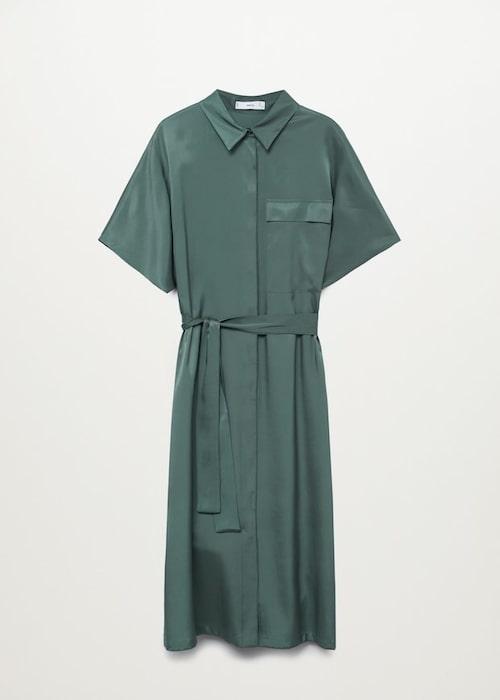 Skjortklänning från Mango.