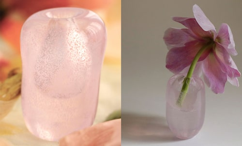 Handblåst vas från Mimou.