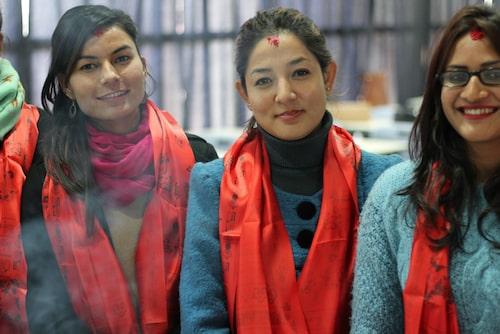 Utbildningen har pågått i tre år och har drivits av sjuksköterskor. Prasansha och hennes studiekompisar har saknat barnmorskeperspektivet en del.