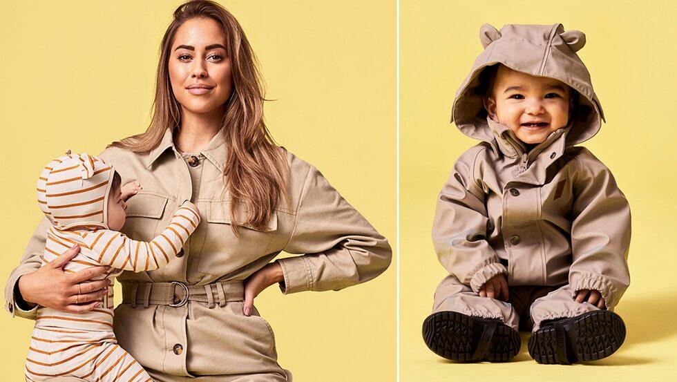 Kenza designar sin första kollektion barnkläder för märket Kuling.