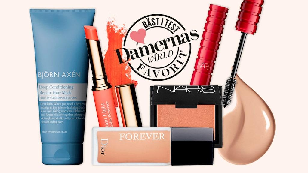 Bra smink och hudvård hittar du i vår topplista för bästa skönhetsprodukterna 2019.