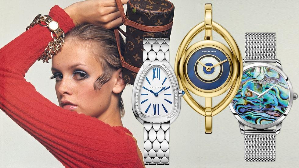 Twiggy i klocka från Vacheron Constantin, ur Vogue 1967.