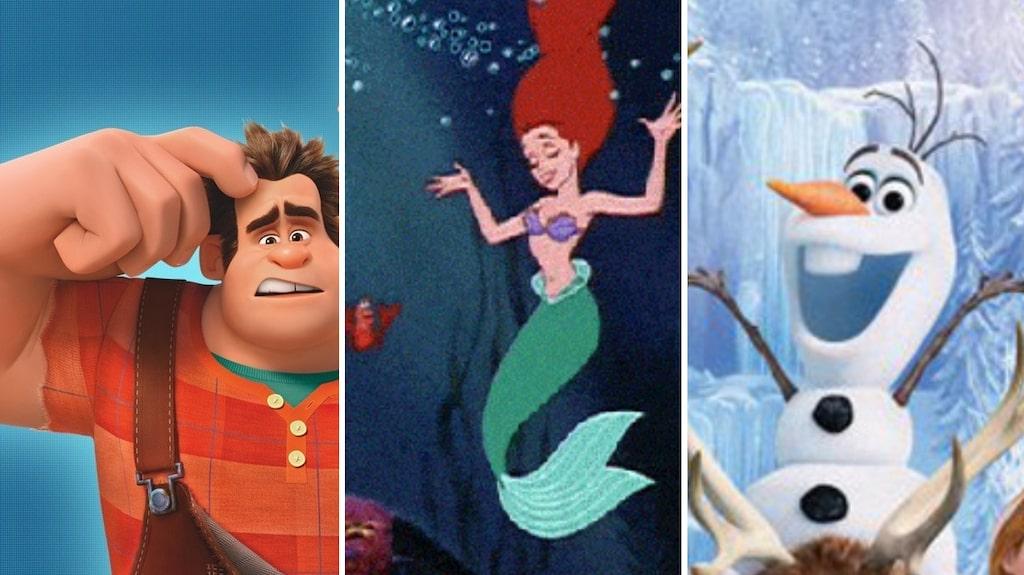 Ralf, Ariel eller kanske Olof? Disneys filmskatt har gett oss massvis med namninspiration.