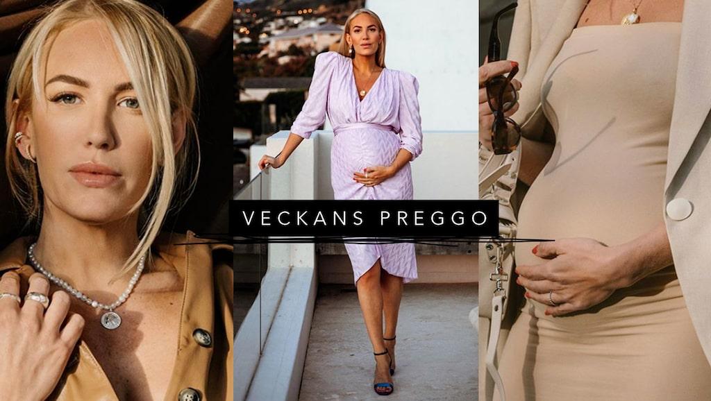 Influencern Petra Tungården väntar sitt första barn. För mama berättar hon om graviditeten och varför namnvalet föll på Harry.