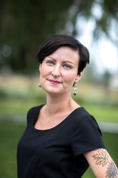 Sandra Lindström, psykolog och jämställdhetsexpert.