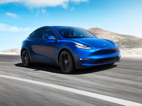 I Tyskland ska bland annat nya Model Y tillverkas.