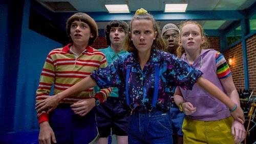 1980-talsvurmande Stranger Things var het på 2010-talet.