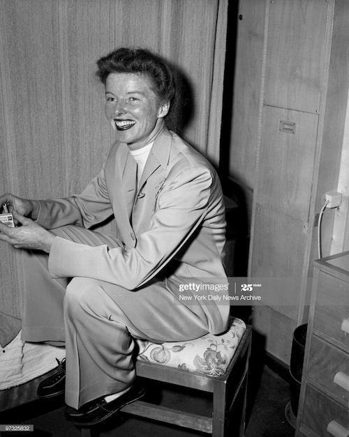 Katherine Hepburn i Amsterdam  1948.