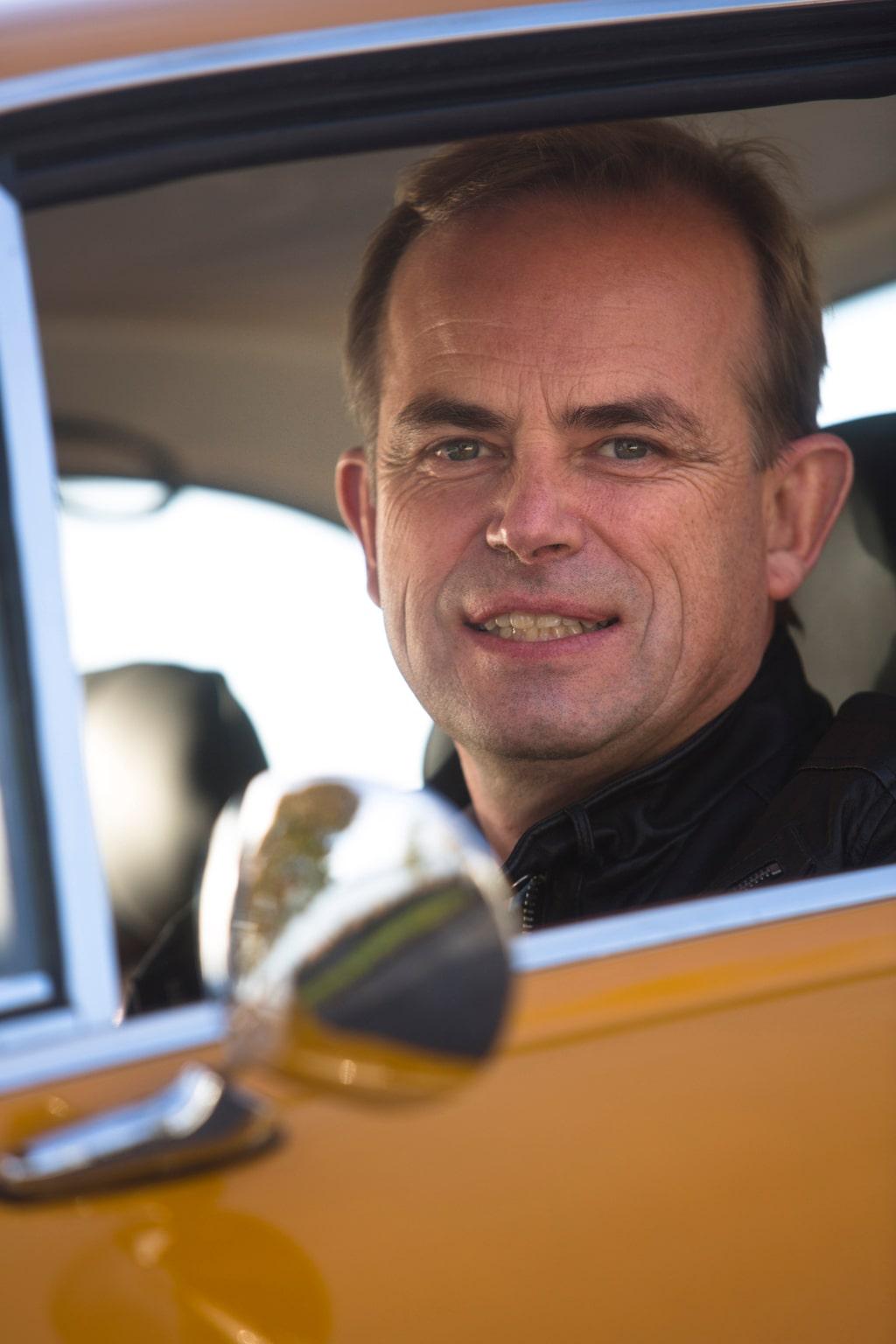 Anders Norén gillar att köra sin Bertone-coupé. Inte ens en tur till Italien avskräcker, ett gott betyg till den lilla 1290-kubiksmotorn.