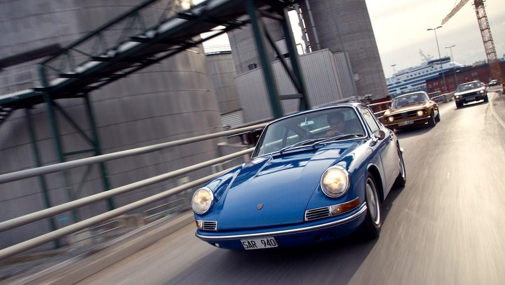 Med en fönsteryta som är 50 procent större än på gamla Porsche 356 fick 911/912 en luftig kupé och ett modernt intryck.