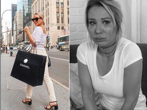 – Bilden till vänster publicerades medan jag ser ut som på bilden till höger.Det är inte lätt att visa reality alla gånger. Ibland är det lättare att fejka, livet är inte alltid som på instagram..., säger Alexandra.