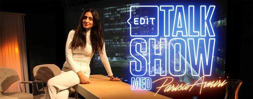2016 ledde Parisa Amiri talkshowen Edit: Parisa Amiri  på SVT.