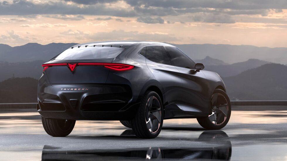Tavascan blir Cupras andra egna modell och elbil. Här syns konceptet från 2019.