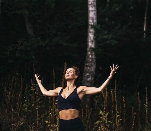 Snapshot från Idas instagram: Ida hämtar kraft i naturen.