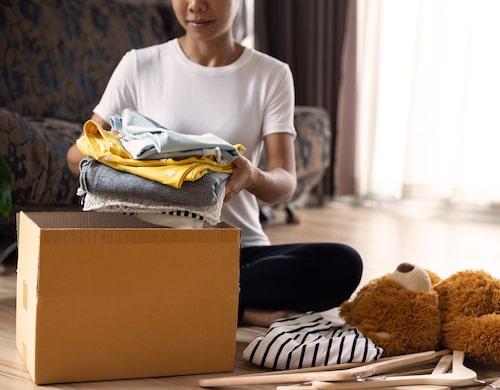 Tänk på! Det är lika mysigt för dig som för barnen att ibland plocka fram lådan och se på de små kläderna.