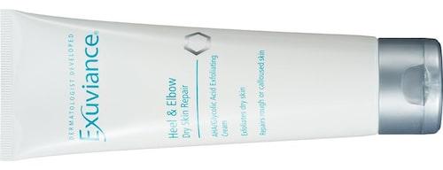 Fotcrème med AHA- och PHA-syra samt E-vitamin, Heel & elbow dry skin repair, Exuviance. Klicka på bilden och kom direkt till produkten.