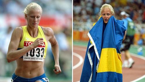 Oslagbar på 200 meter i Paris 2003 och efter OS-guldet i Aten 2004.