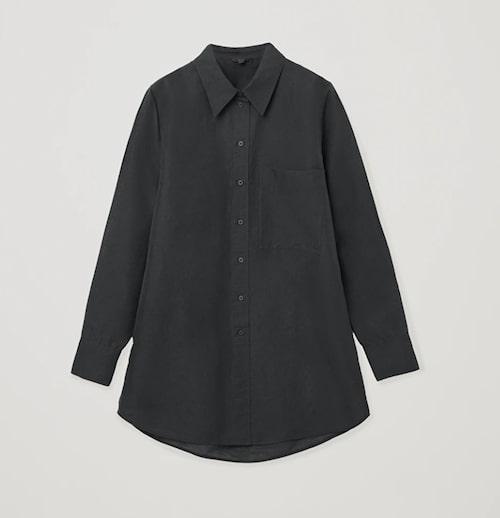 Svart linneskjorta för dam från Cos.