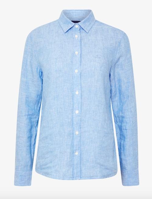 Linen chambray shirt från Gant.