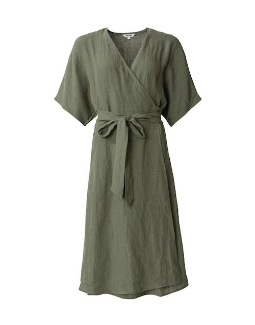 Omlottklänning i linne från Indiska.