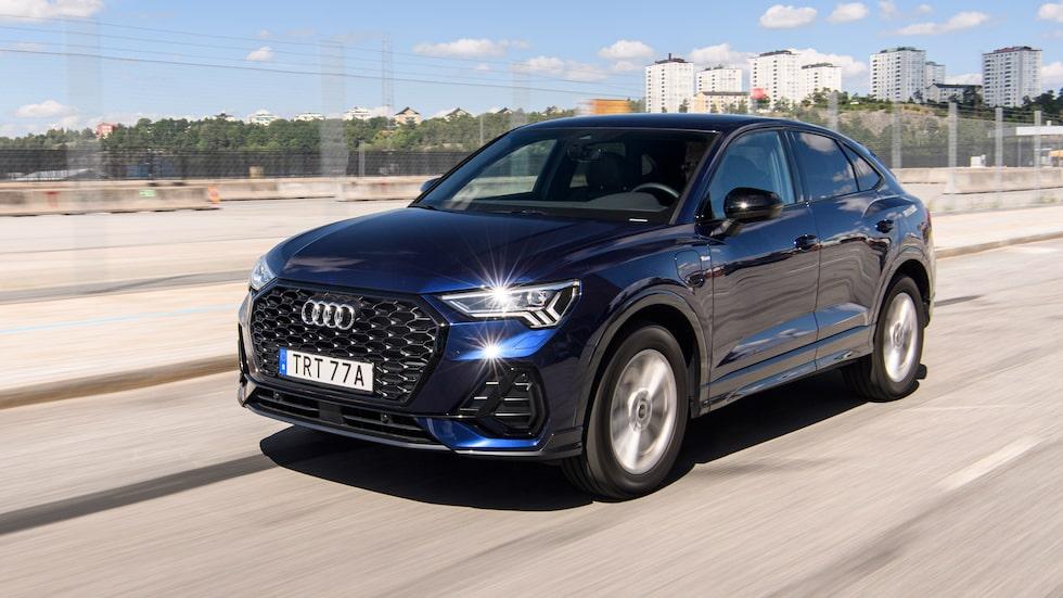 Med laddsladd blir skatteförhållandena helt annorlunda för Audi Q3.
