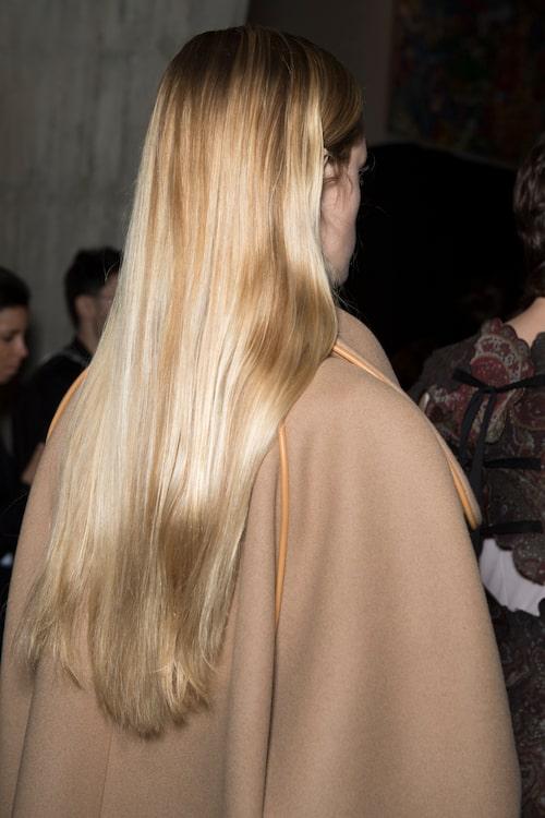 Frissfritt hår hos Loewe.