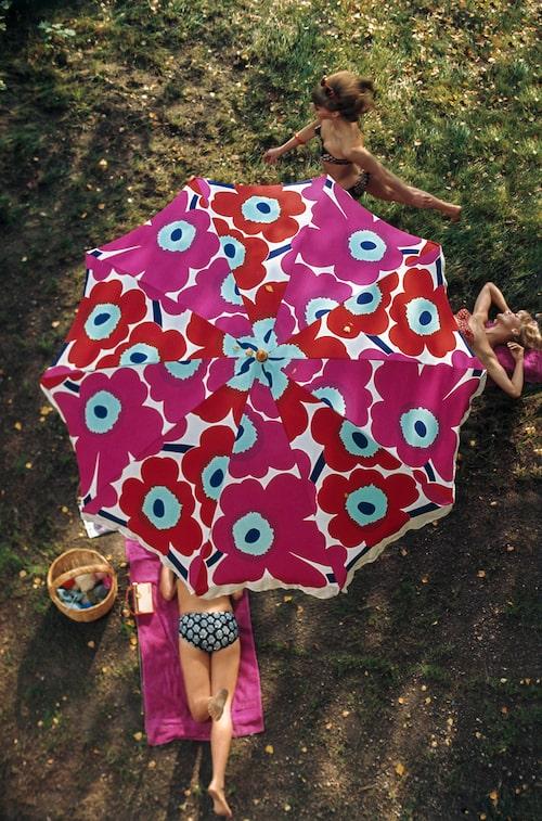 Världens mest kända blomma: Unikko fotograferad för Life Magazine på 60-talet.