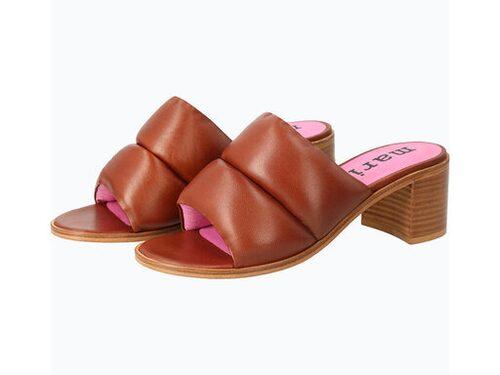 Sandaler i skinn från Marimekko.