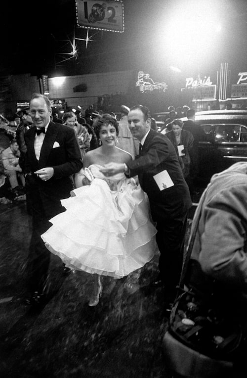 Elizabeth Taylor på Oscarsgalan 1953.
