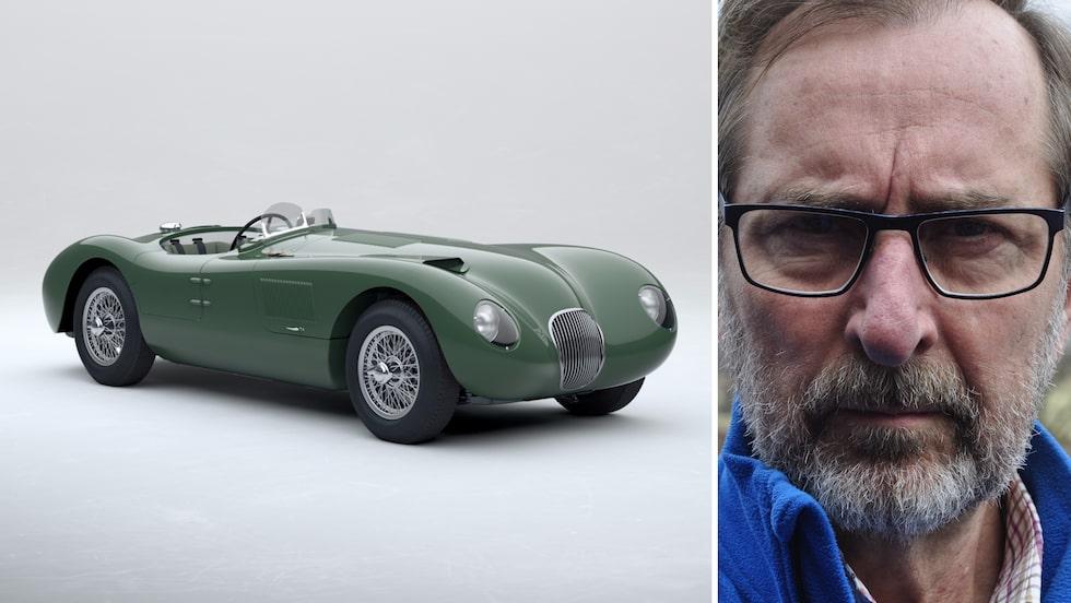 Karl Magnusson måste förstöra sin C-Type-replika samt betala ersättning på 5 miljoner kronor till Jaguar.