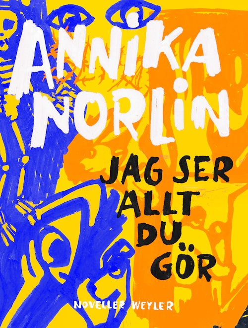 Artisten Annika Norlins författardebut, den hyllade novellsamlingen Jag ser allt du gör.