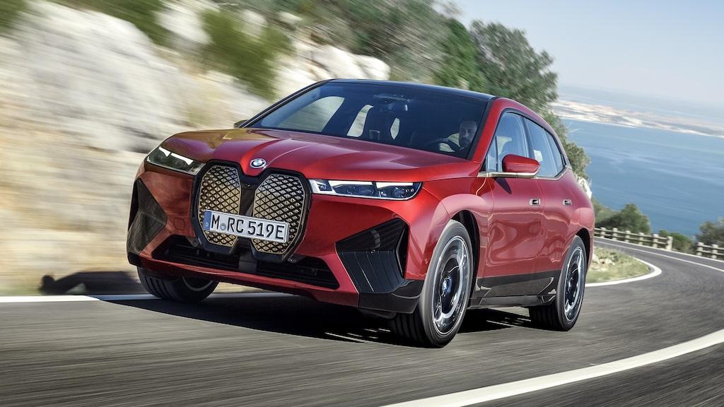 Nyligen presenterade BMW iX.
