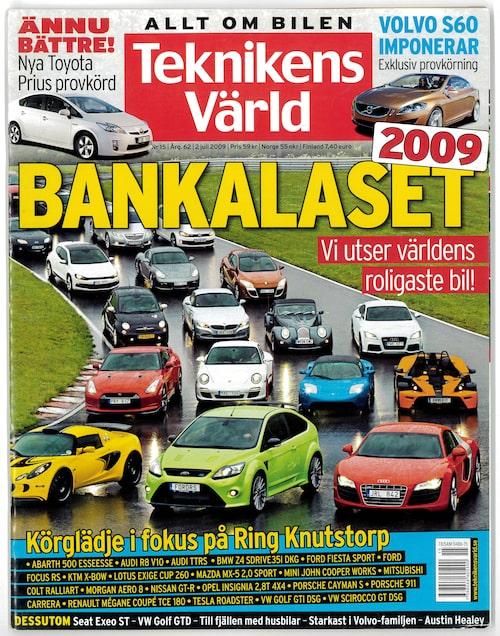 I Teknikens Värld nummer 15/2009 hittar du den exklusiva provkörningen av Volvo S60 Concept.