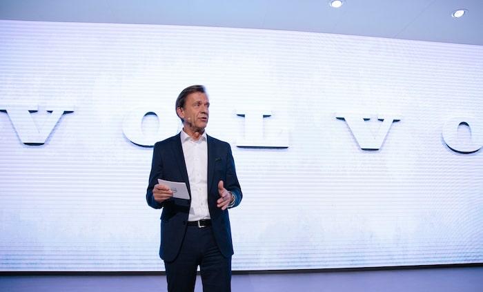 Håkan Samuelsson, vd Volvo Car Group.