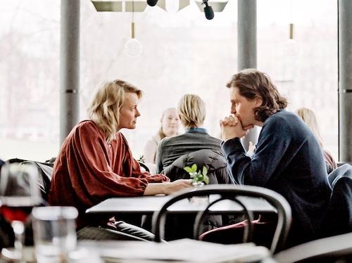 Josephine med Sverrir Gudnason i Älska mig.