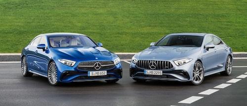 Icke AMG till vänster, AMG till höger.