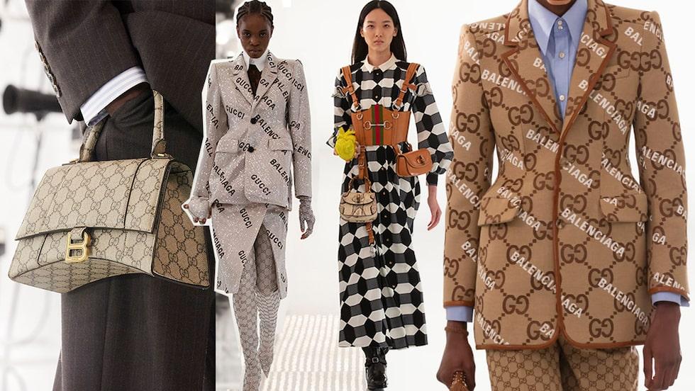 Allt om Guccis kollektion Aria i samarbete med Balenciaga.