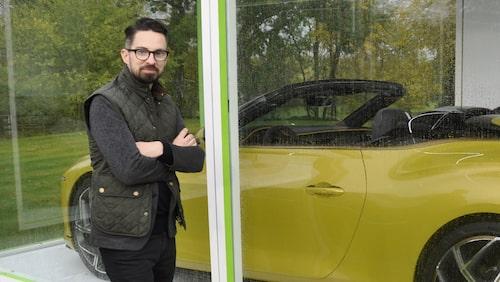 John Buckingham, designer på Bentley.