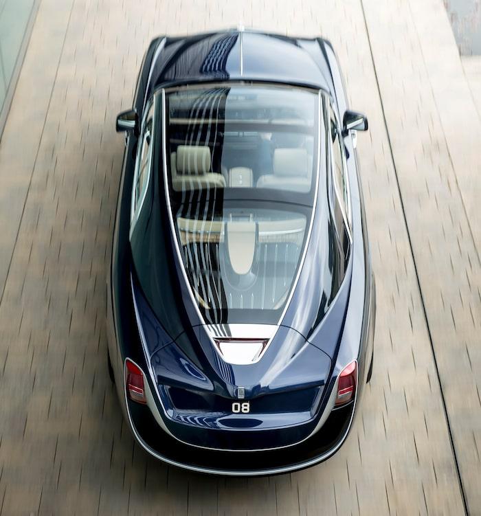 Rolls-Royce Sweptail från 2017.