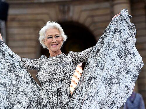 Helen Mirren njuter av att åldras.