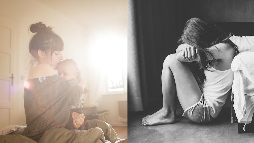 Josefin misshandlades av sin pojkvän både före, under och efter graviditeten. (personerna på bilderna har inget med artikeln att göra)