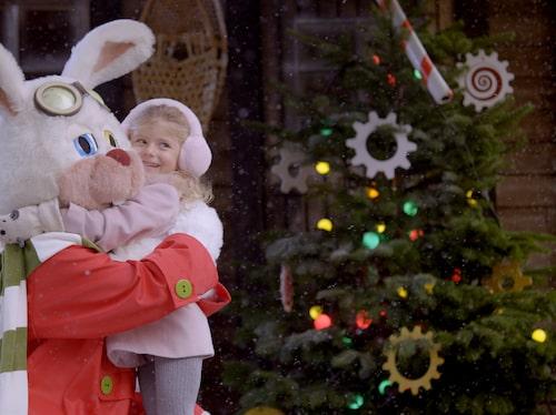 Här kan de små få årets julkram.