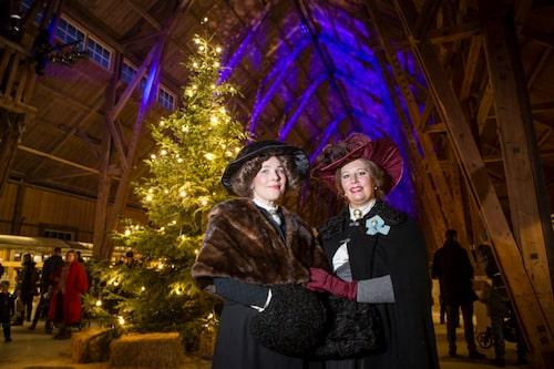 """På Tjolöholm kan du få en brittisk julupplevelse. """"Merry Christmas!"""""""