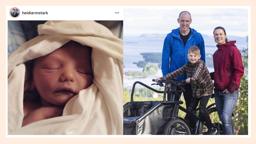 Familjen Andersson/Ferry har utökats med en liten Simon.