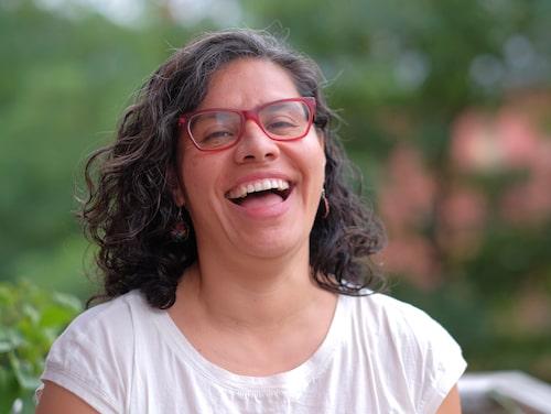 Yénika bytte till menskopp för att hon ville använda ett mer klimatsmart skydd