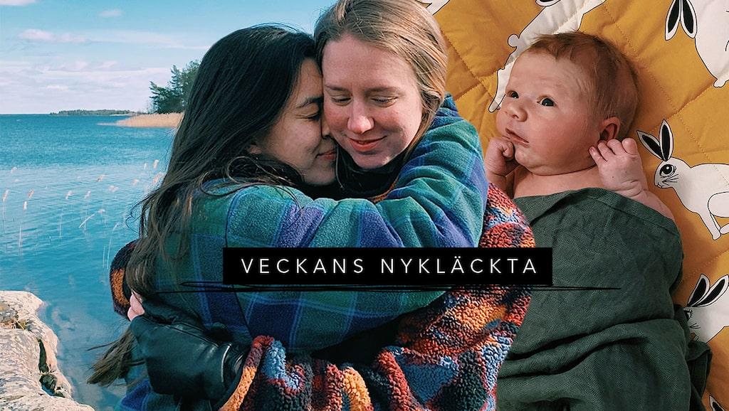 """Elsa och Cornelia delade med sig av resan till Ragnar i sin podd """"Elsa & Cornelia gör barn""""."""