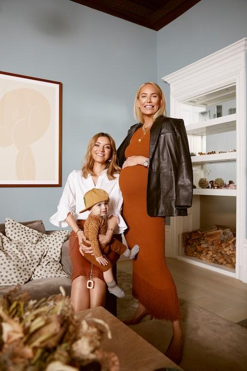 Michaela Forni och Dante längtar efter Petra Tungårdens kommande bebis Harry