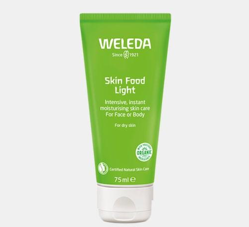 Skin food light från Weleda passar vintertorr hud.